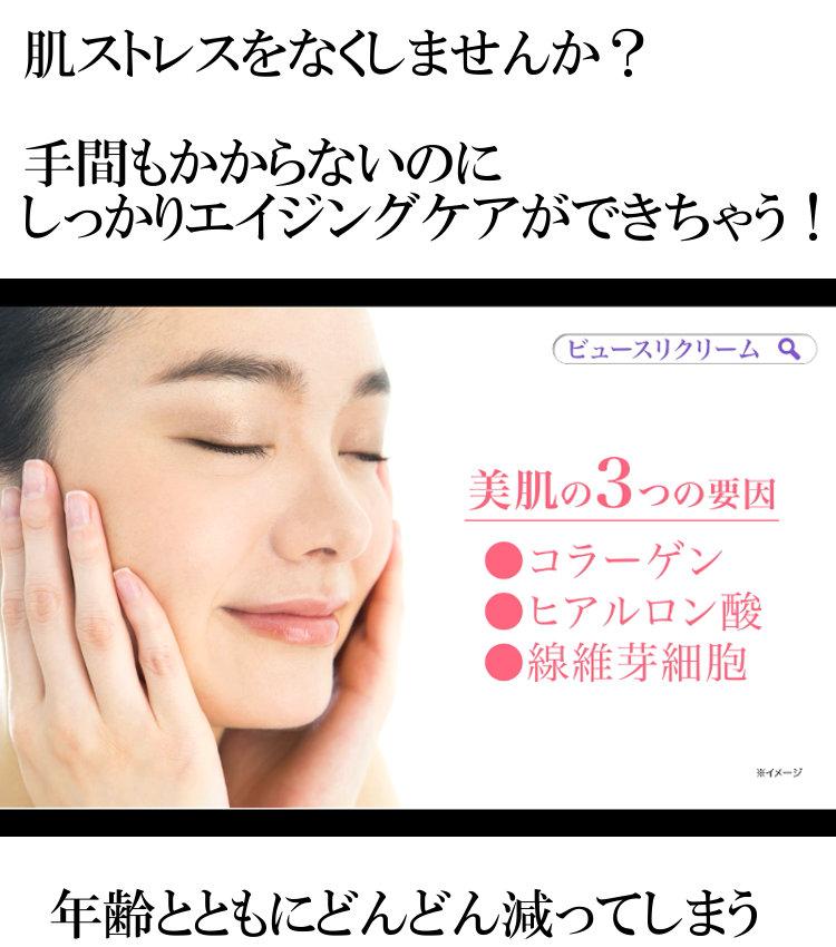 美肌の3つの要因はコラーゲン・ヒアルロン酸・繊維芽細胞