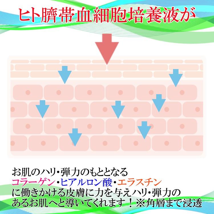 ヒト臍帯血細胞順化培養液エキス(ヒト臍帯血細胞培養液)