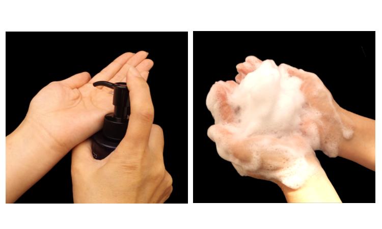 肌細胞の活性を促す高品質成分でできた、美容液のようなレイズエッセンスインクレンジング使用方法